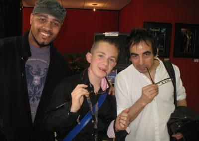 Eric JONES et Armando LUCERO