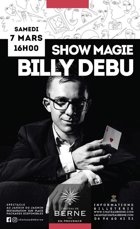 Spectacle de Magie dans le Var (83) et les Alpes Maritimes (06)